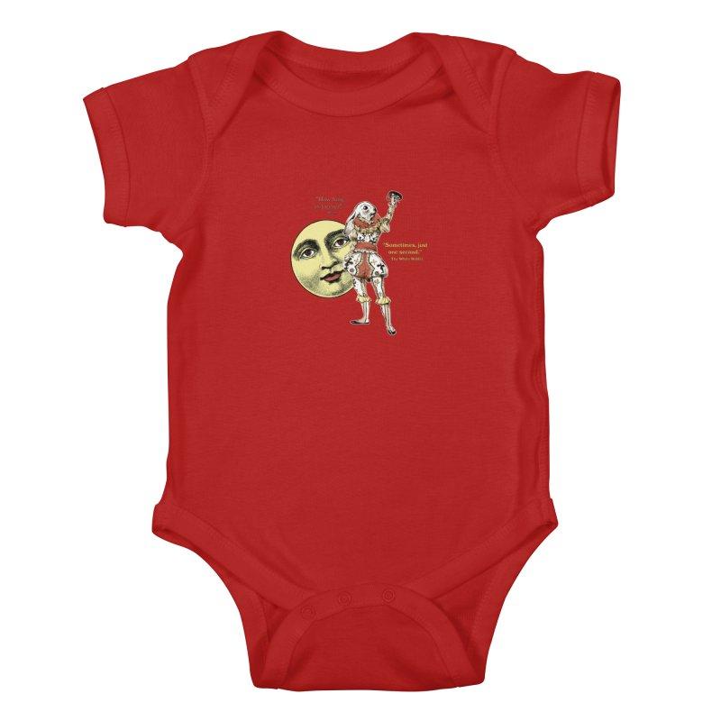 How Long is Forever? Kids Baby Bodysuit by theatticshoppe's Artist Shop