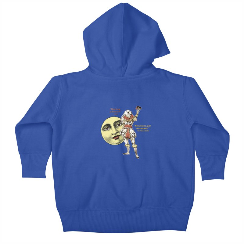 How Long is Forever? Kids Baby Zip-Up Hoody by theatticshoppe's Artist Shop