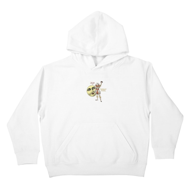 How Long is Forever? Kids Pullover Hoody by theatticshoppe's Artist Shop