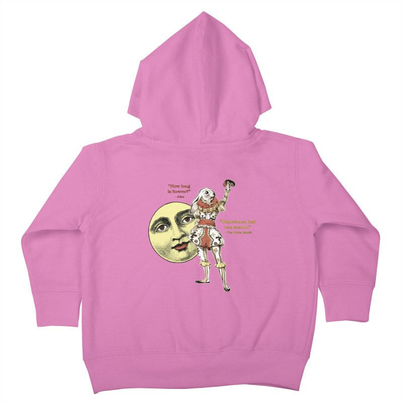 How Long is Forever? Kids Toddler Zip-Up Hoody by theatticshoppe's Artist Shop