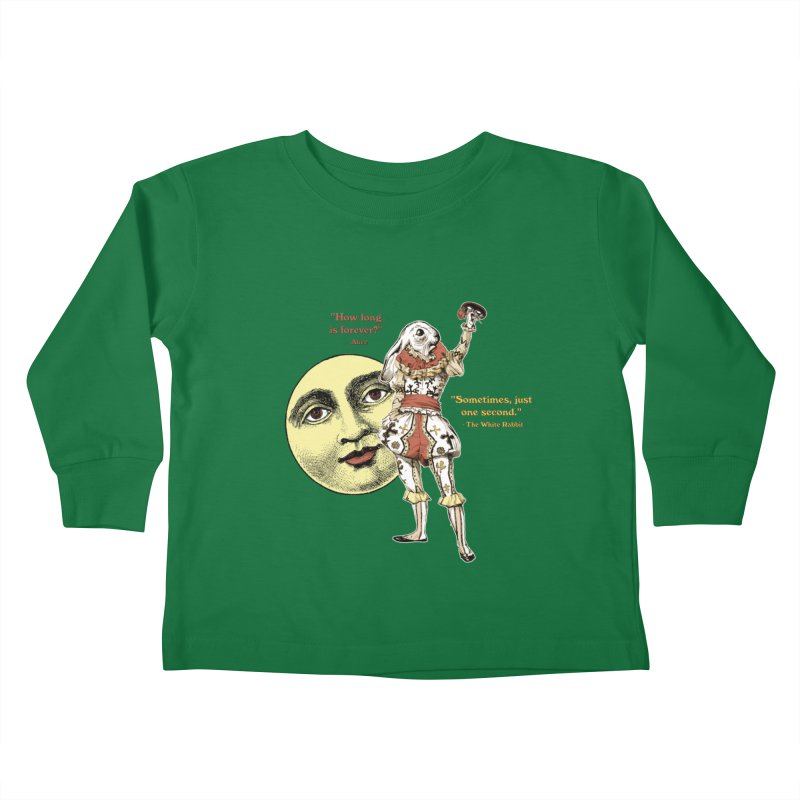 How Long is Forever? Kids Toddler Longsleeve T-Shirt by theatticshoppe's Artist Shop