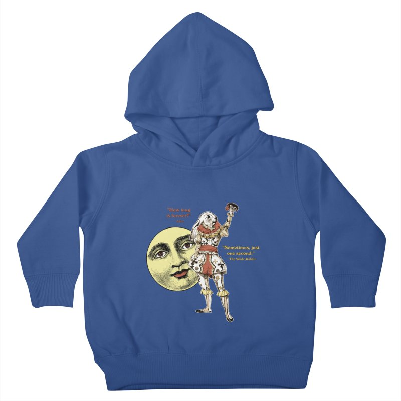 How Long is Forever? Kids Toddler Pullover Hoody by theatticshoppe's Artist Shop