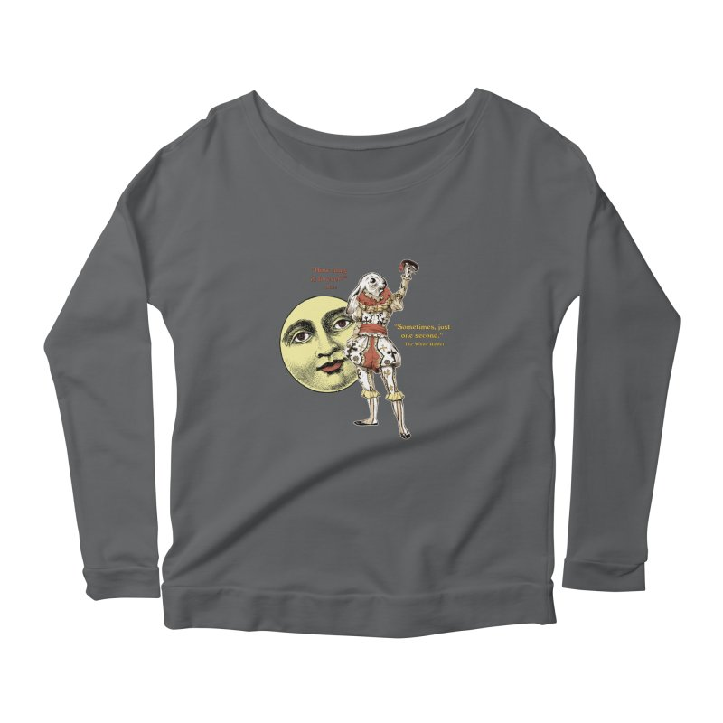 How Long is Forever? Women's Longsleeve Scoopneck  by theatticshoppe's Artist Shop