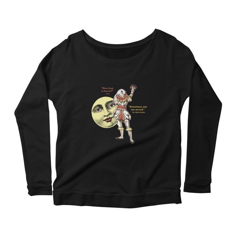 How Long is Forever? Women's Scoop Neck Longsleeve T-Shirt by theatticshoppe's Artist Shop