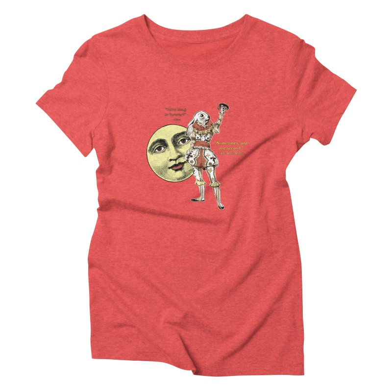 How Long is Forever? Women's Triblend T-shirt by theatticshoppe's Artist Shop