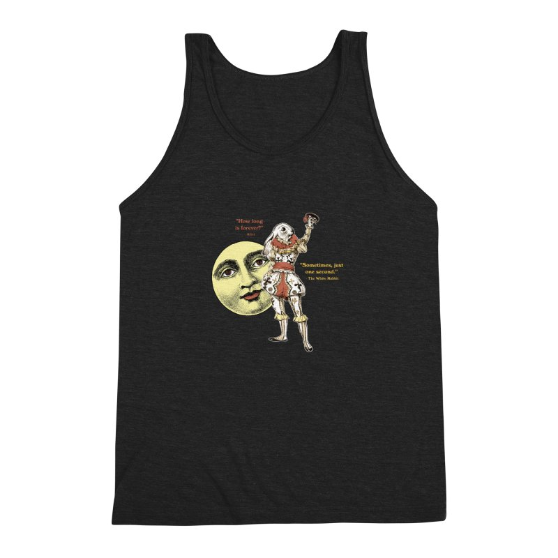 How Long is Forever? Men's Triblend Tank by theatticshoppe's Artist Shop