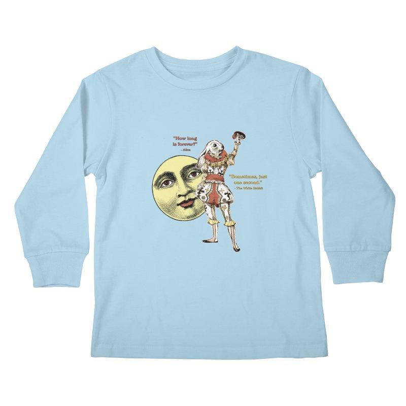 How Long is Forever? Kids Longsleeve T-Shirt by theatticshoppe's Artist Shop