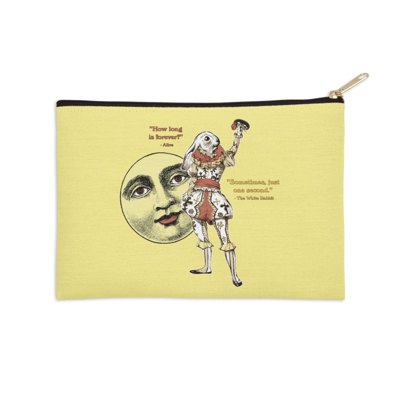 How Long is Forever? Accessories Zip Pouch by theatticshoppe's Artist Shop