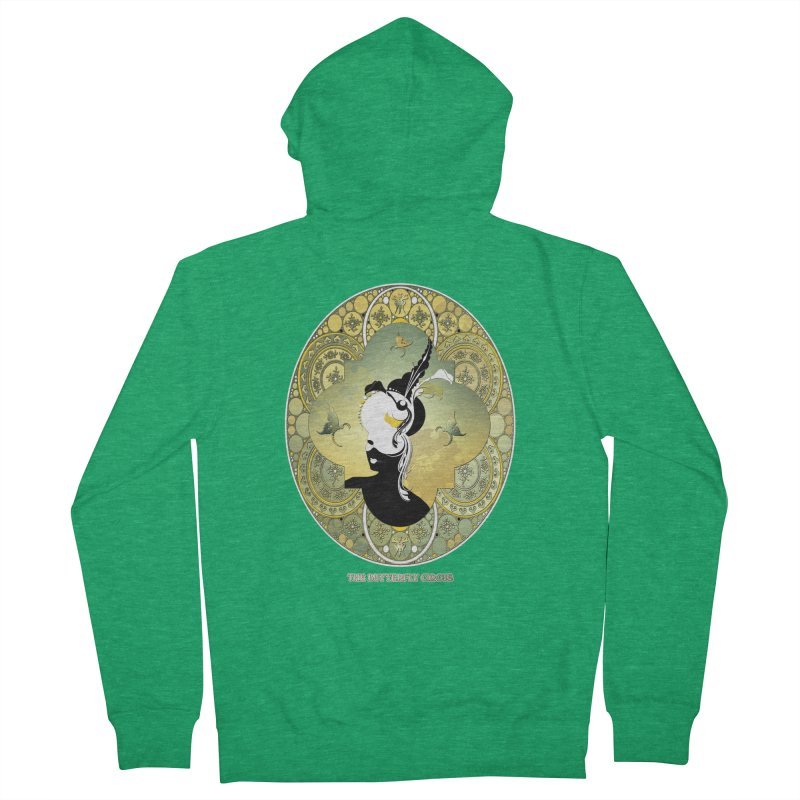 The Butterfly Circus Lily  Women's Zip-Up Hoody by theatticshoppe's Artist Shop