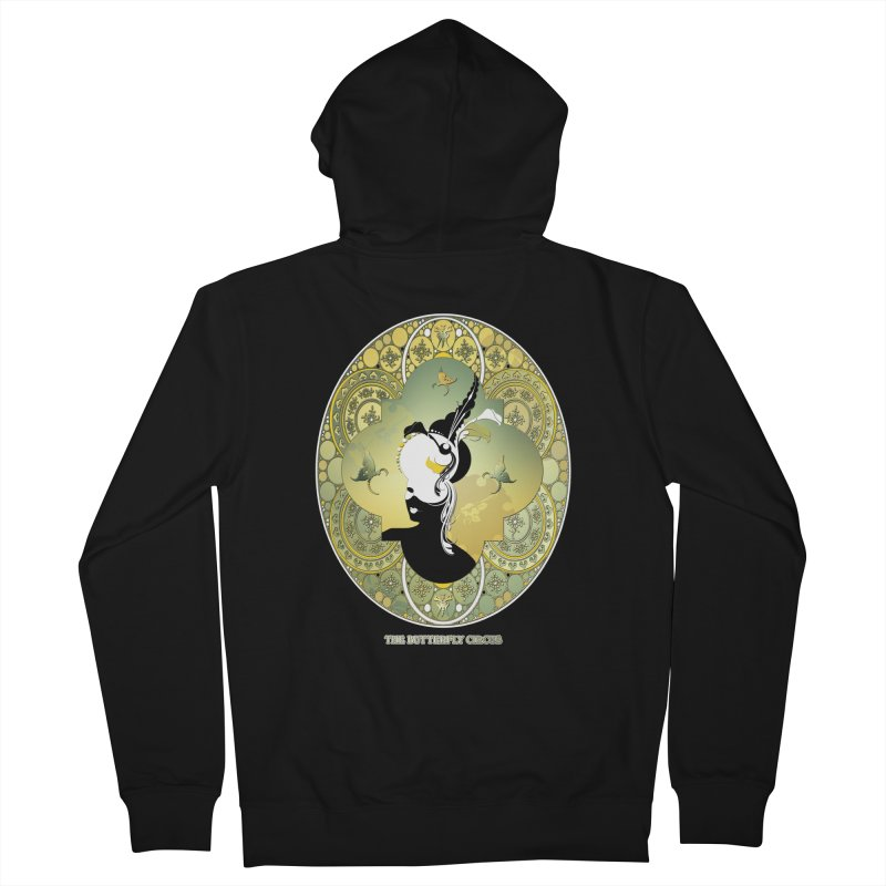 The Butterfly Circus Lily  Men's Zip-Up Hoody by theatticshoppe's Artist Shop