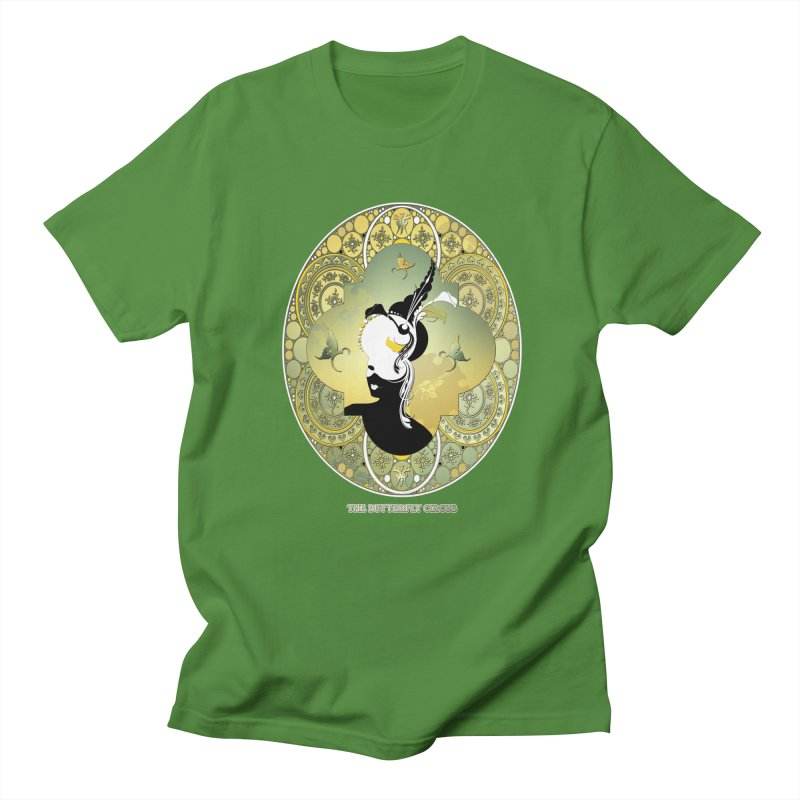 The Butterfly Circus Lily  Men's Regular T-Shirt by theatticshoppe's Artist Shop