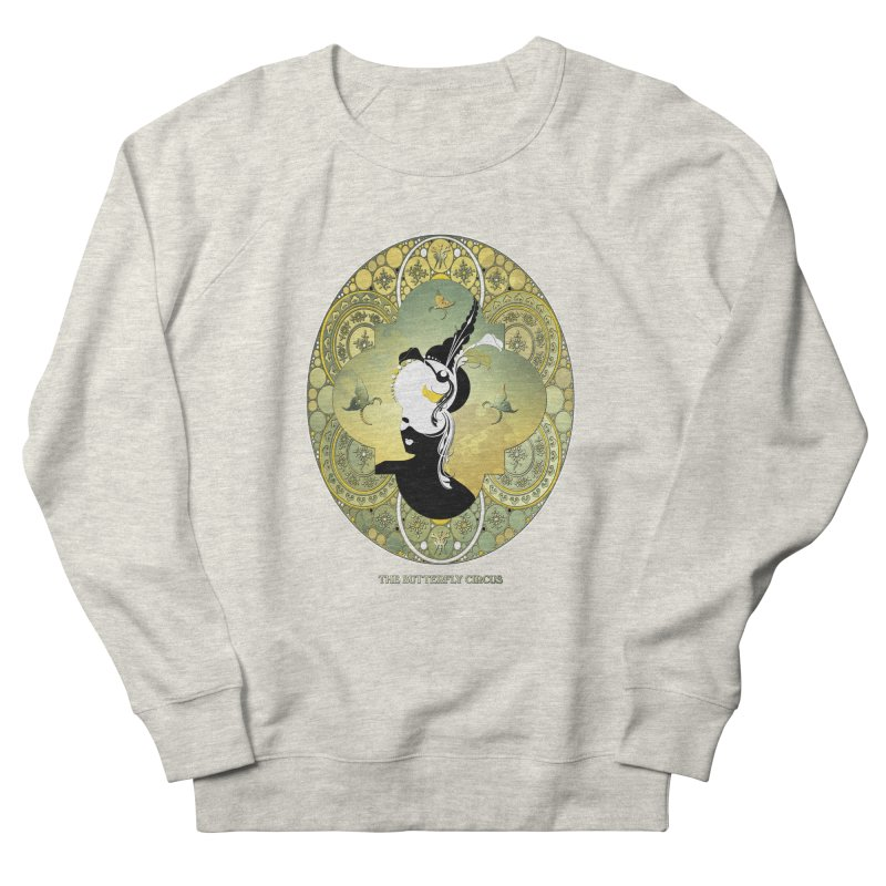 The Butterfly Circus Lily  Men's French Terry Sweatshirt by theatticshoppe's Artist Shop