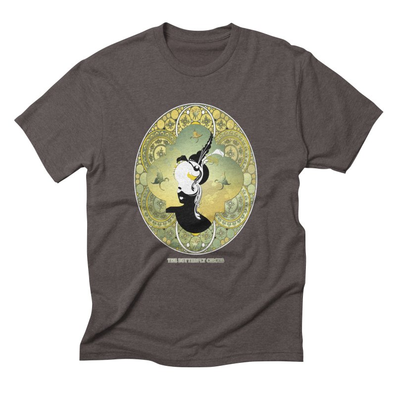 The Butterfly Circus Lily  Men's Triblend T-Shirt by theatticshoppe's Artist Shop