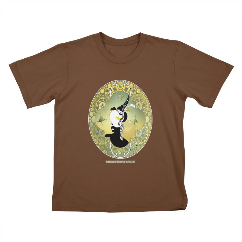 The Butterfly Circus Lily  Kids T-Shirt by theatticshoppe's Artist Shop