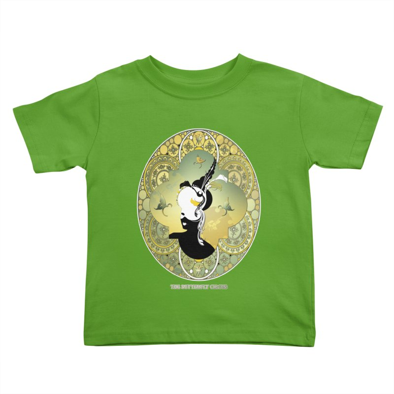 The Butterfly Circus Lily  Kids Toddler T-Shirt by theatticshoppe's Artist Shop