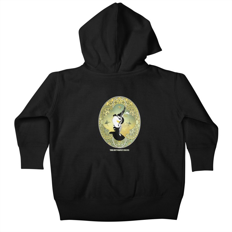 The Butterfly Circus Lily  Kids Baby Zip-Up Hoody by theatticshoppe's Artist Shop