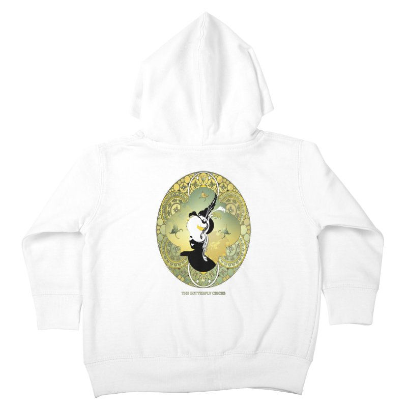 The Butterfly Circus Lily  Kids Toddler Zip-Up Hoody by theatticshoppe's Artist Shop