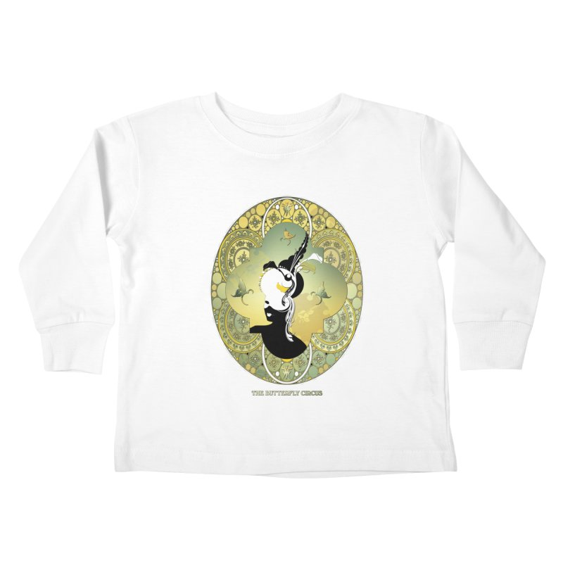 The Butterfly Circus Lily  Kids Toddler Longsleeve T-Shirt by theatticshoppe's Artist Shop
