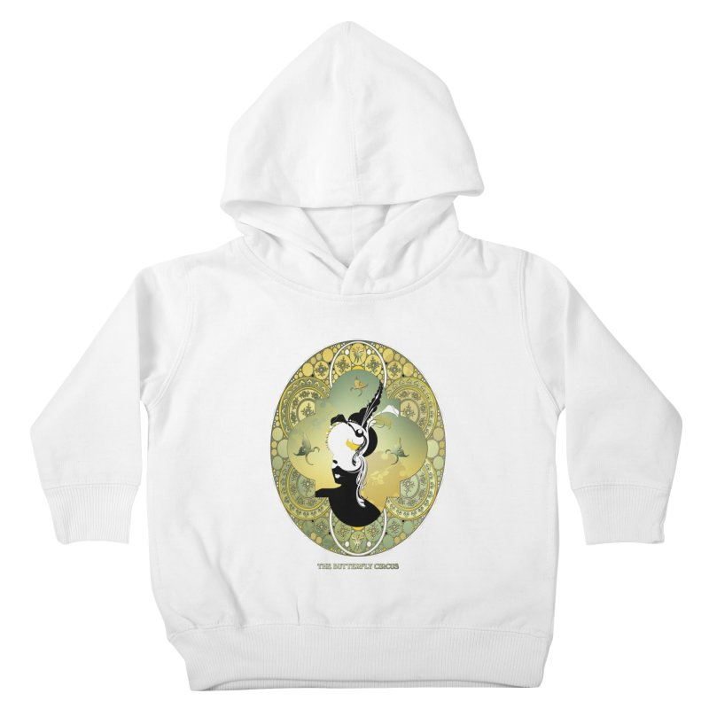 The Butterfly Circus Lily  Kids Toddler Pullover Hoody by theatticshoppe's Artist Shop