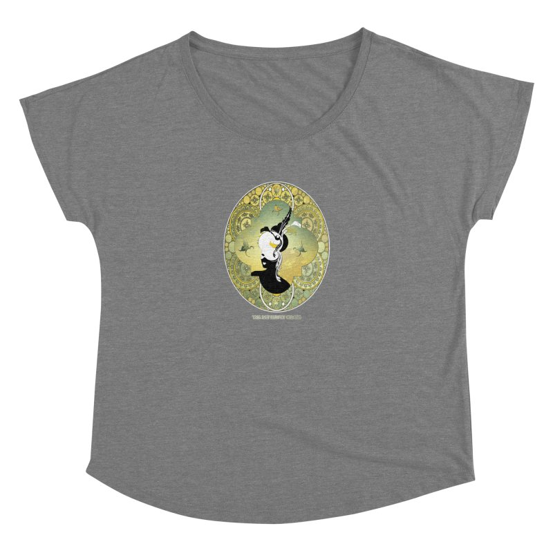 The Butterfly Circus Lily  Women's Scoop Neck by theatticshoppe's Artist Shop