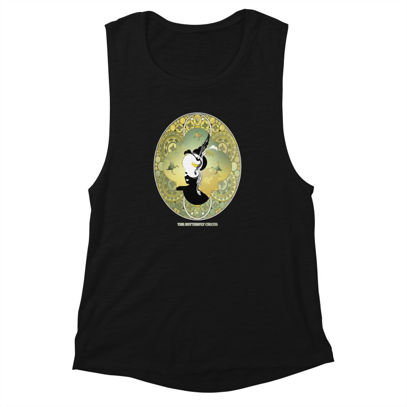 The Butterfly Circus Lily  Women's Muscle Tank by theatticshoppe's Artist Shop