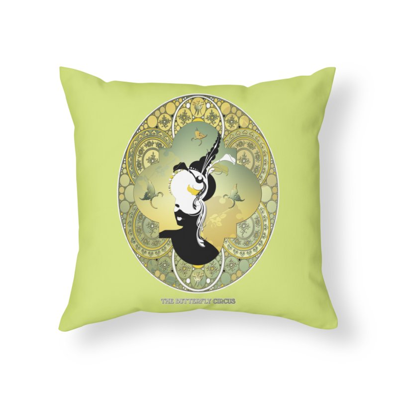 The Butterfly Circus Lily  Home Throw Pillow by theatticshoppe's Artist Shop