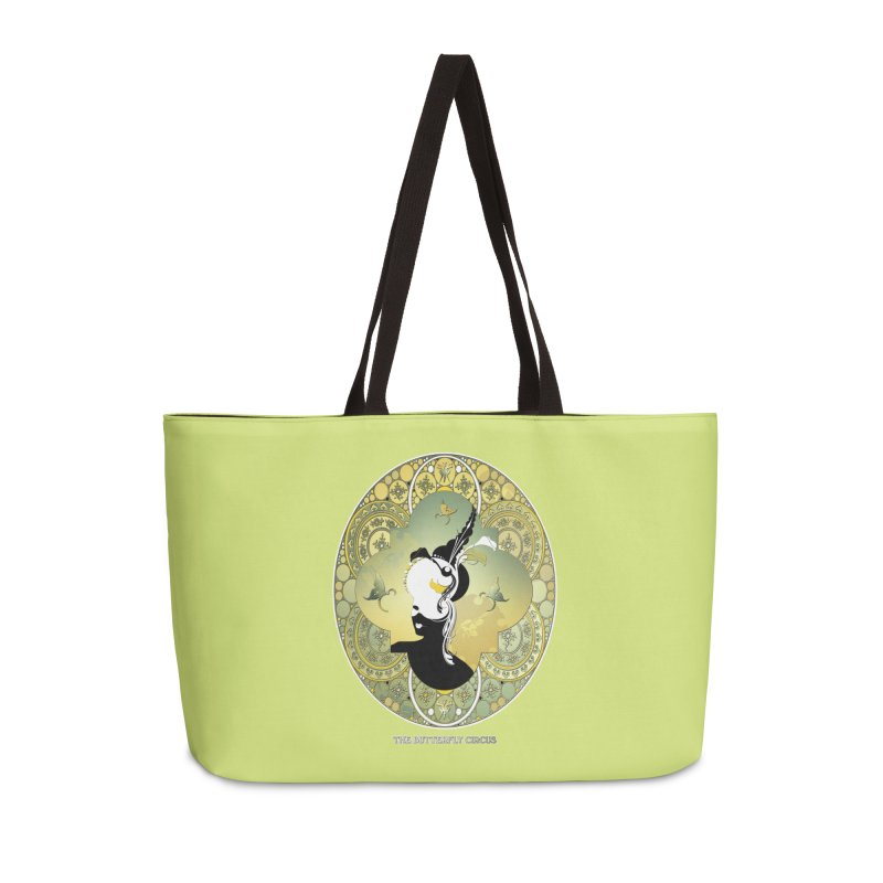 The Butterfly Circus Lily  Accessories Weekender Bag Bag by theatticshoppe's Artist Shop