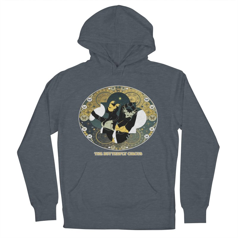 The Butterfly Circus Stars Landscape Women's French Terry Pullover Hoody by theatticshoppe's Artist Shop