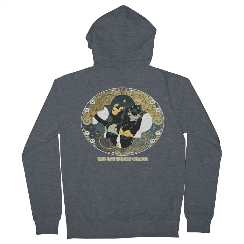 The Butterfly Circus Stars Landscape Women's French Terry Zip-Up Hoody by theatticshoppe's Artist Shop