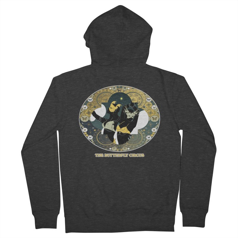 The Butterfly Circus Stars Landscape Men's French Terry Zip-Up Hoody by theatticshoppe's Artist Shop