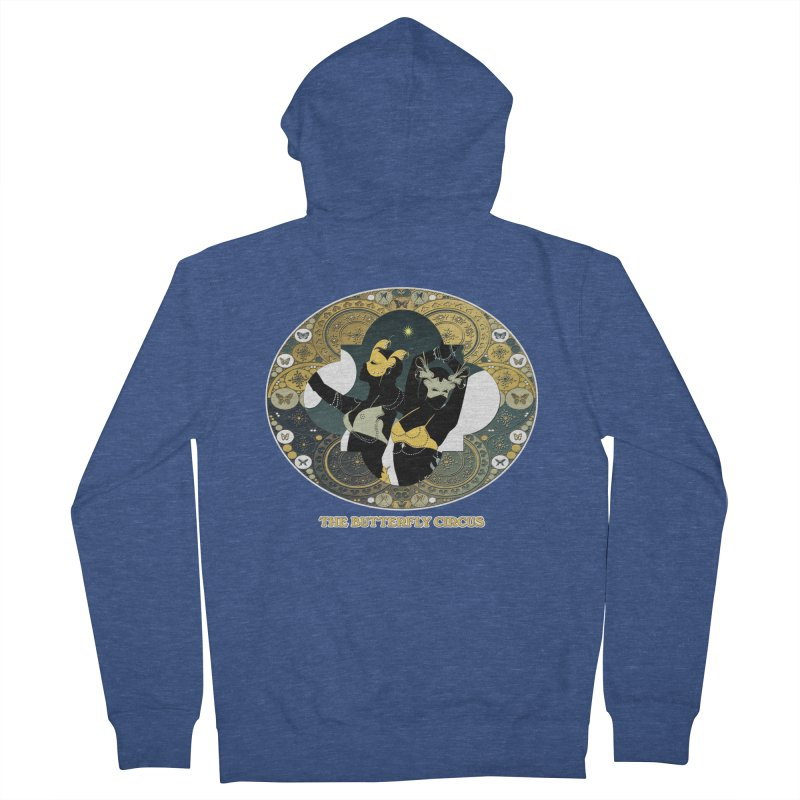 The Butterfly Circus Stars Landscape Men's Zip-Up Hoody by theatticshoppe's Artist Shop