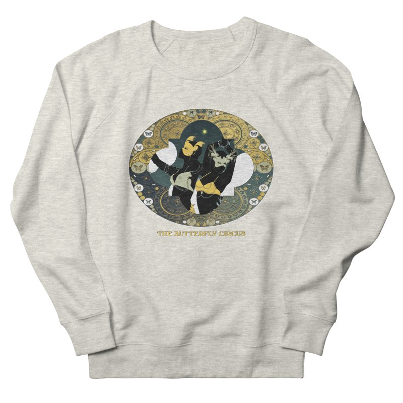 The Butterfly Circus Stars Landscape Men's French Terry Sweatshirt by theatticshoppe's Artist Shop