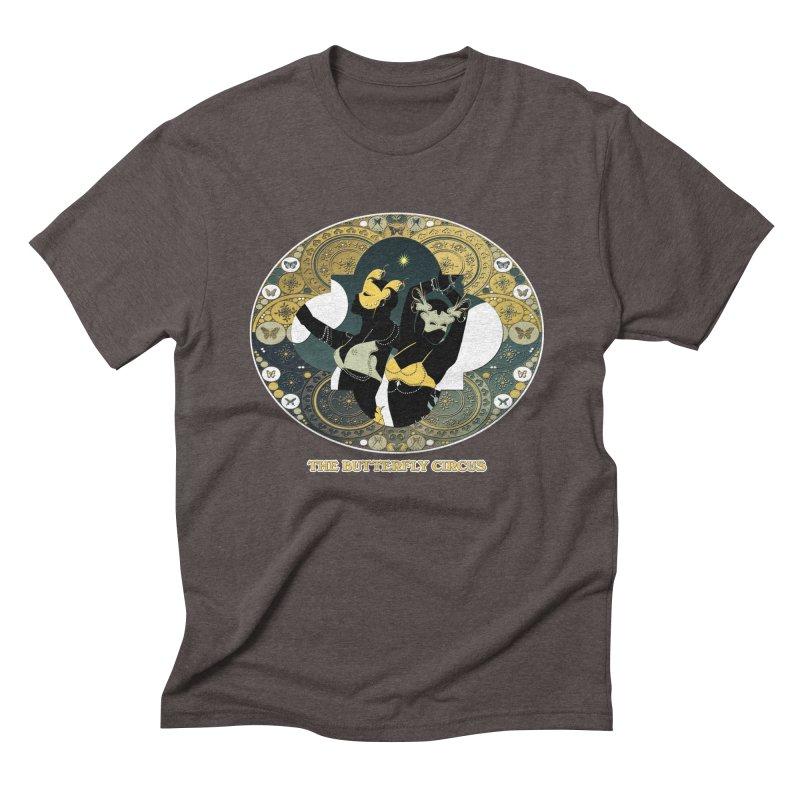 The Butterfly Circus Stars Landscape Men's Triblend T-Shirt by theatticshoppe's Artist Shop