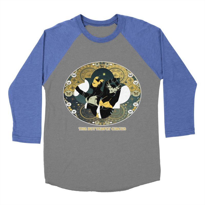 The Butterfly Circus Stars Landscape Men's Baseball Triblend Longsleeve T-Shirt by theatticshoppe's Artist Shop