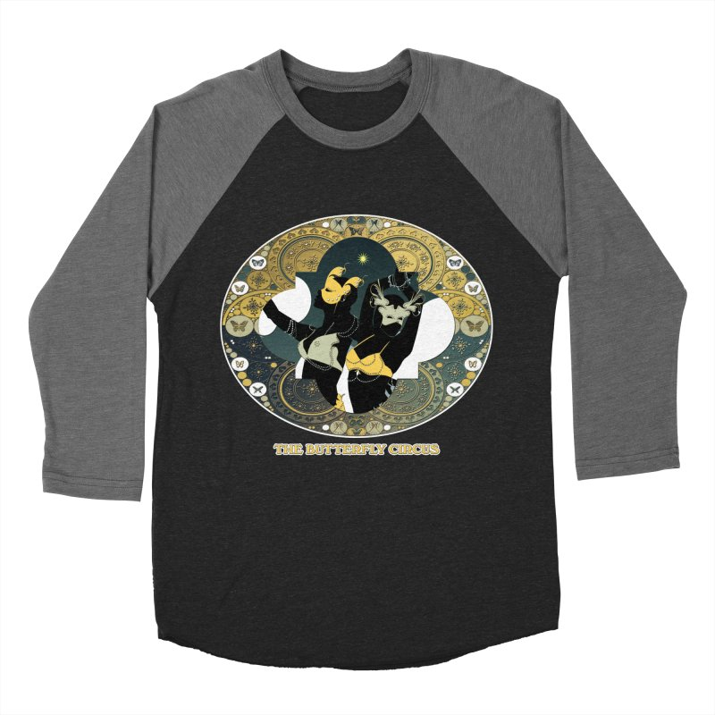The Butterfly Circus Stars Landscape Men's Baseball Triblend Longsleeve T-Shirt by theatticshoppe's Artist Shop