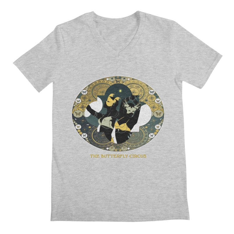 The Butterfly Circus Stars Landscape Men's V-Neck by theatticshoppe's Artist Shop