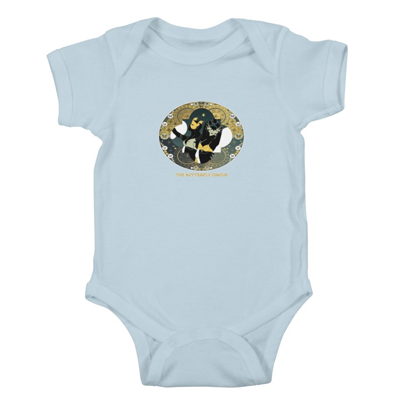 The Butterfly Circus Stars Landscape Kids Baby Bodysuit by theatticshoppe's Artist Shop