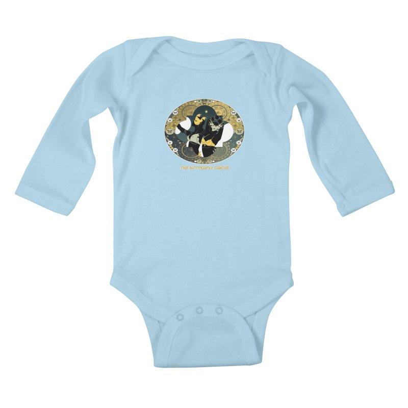 The Butterfly Circus Stars Landscape Kids Baby Longsleeve Bodysuit by theatticshoppe's Artist Shop