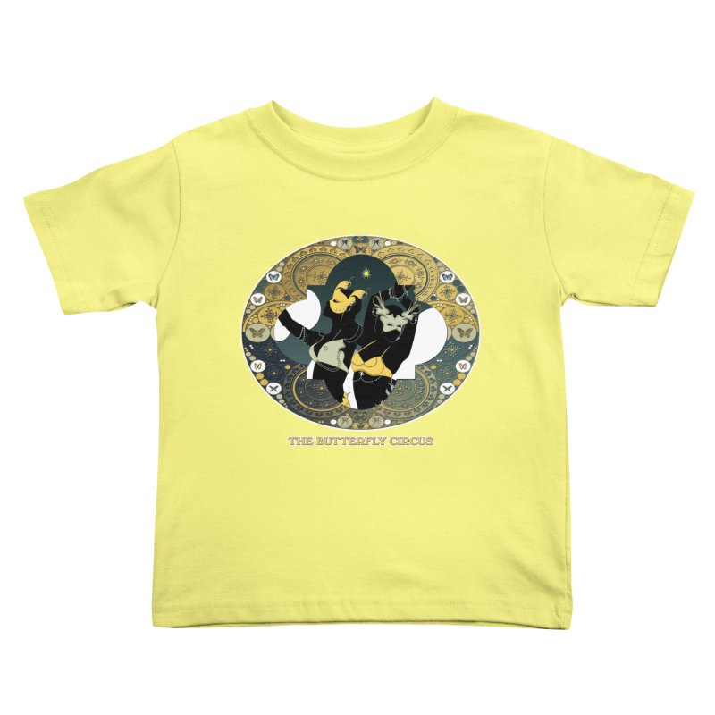 The Butterfly Circus Stars Landscape Kids Toddler T-Shirt by theatticshoppe's Artist Shop