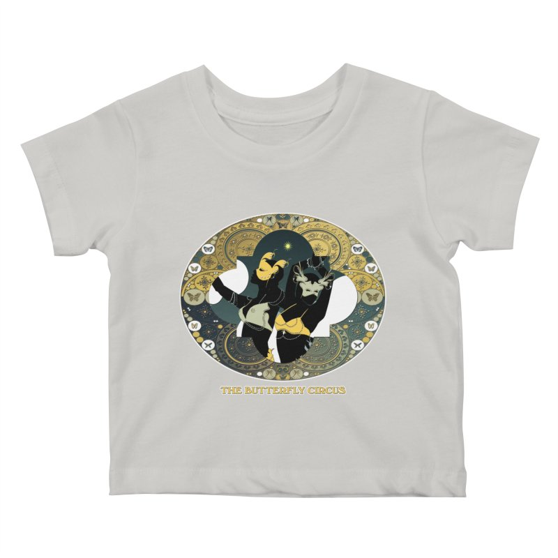 The Butterfly Circus Stars Landscape Kids Baby T-Shirt by theatticshoppe's Artist Shop