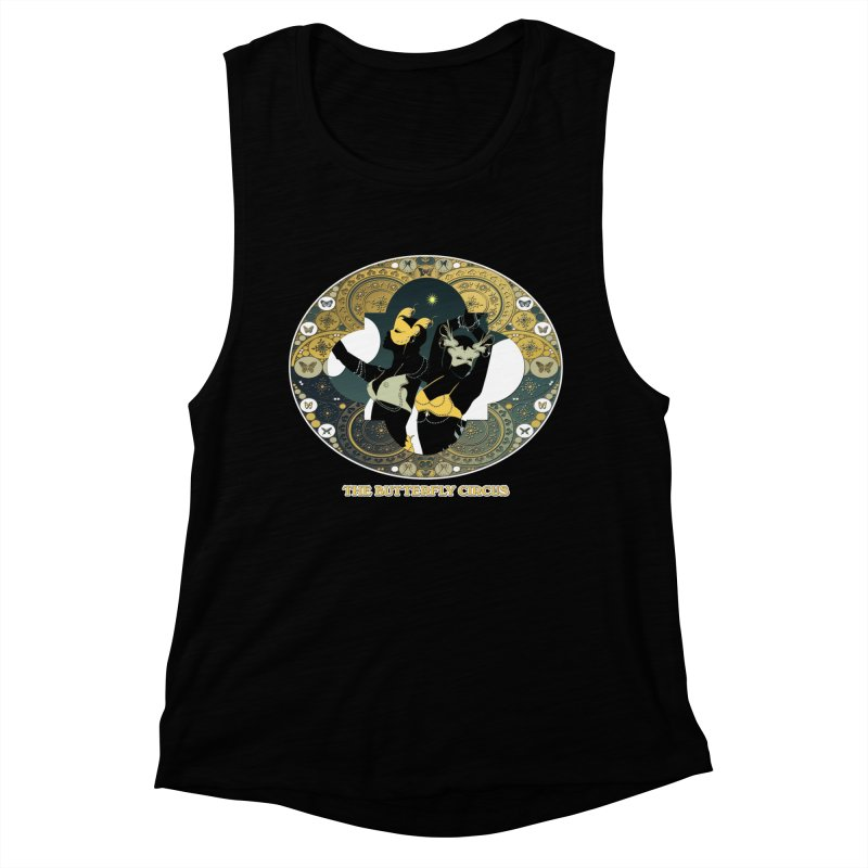 The Butterfly Circus Stars Landscape Women's Muscle Tank by theatticshoppe's Artist Shop