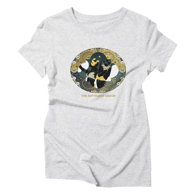 The Butterfly Circus Stars Landscape Women's T-Shirt by theatticshoppe's Artist Shop