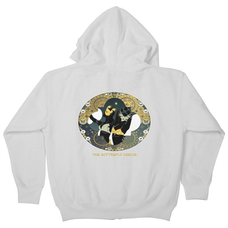 The Butterfly Circus Stars Landscape Kids Zip-Up Hoody by theatticshoppe's Artist Shop