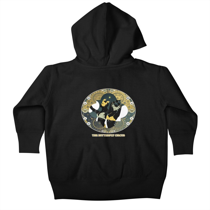 The Butterfly Circus Stars Landscape Kids Baby Zip-Up Hoody by theatticshoppe's Artist Shop