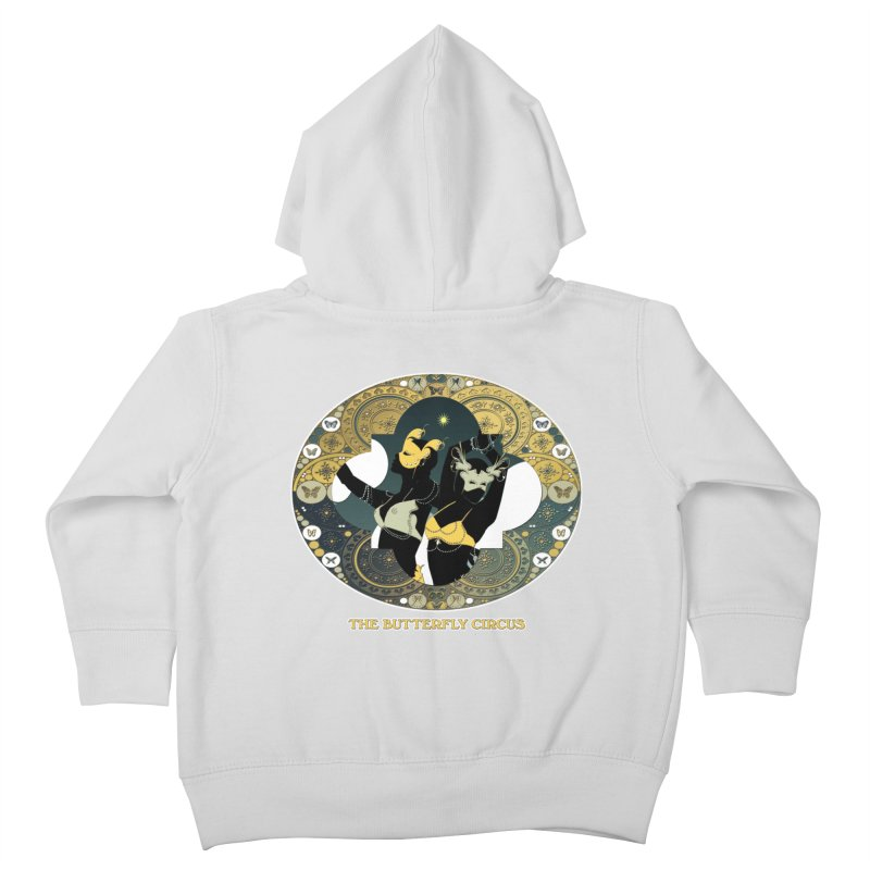 The Butterfly Circus Stars Landscape Kids Toddler Zip-Up Hoody by theatticshoppe's Artist Shop
