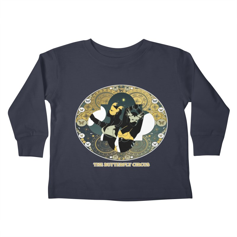 The Butterfly Circus Stars Landscape Kids Toddler Longsleeve T-Shirt by theatticshoppe's Artist Shop