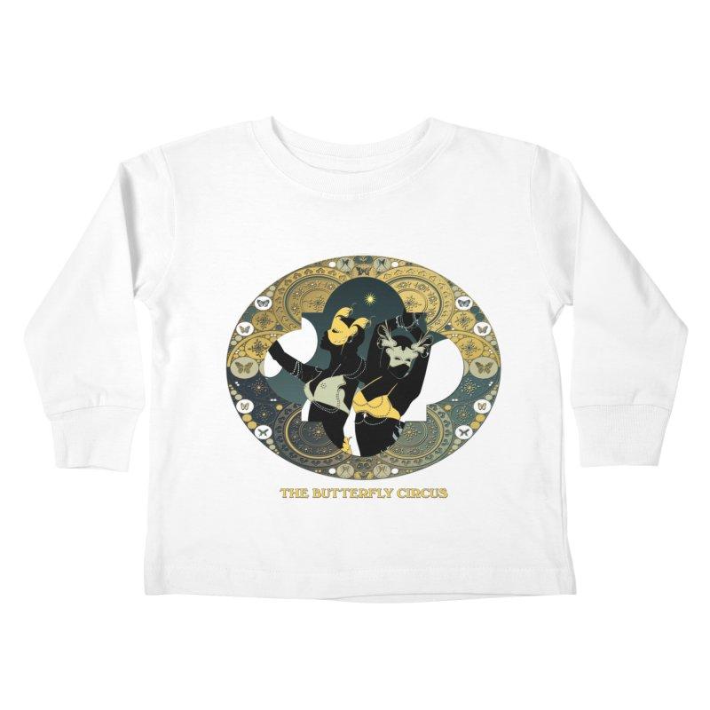 The Butterfly Circus Stars Landscape Kids Toddler Longsleeve T-Shirt by theatticshoppe's Artist Shop