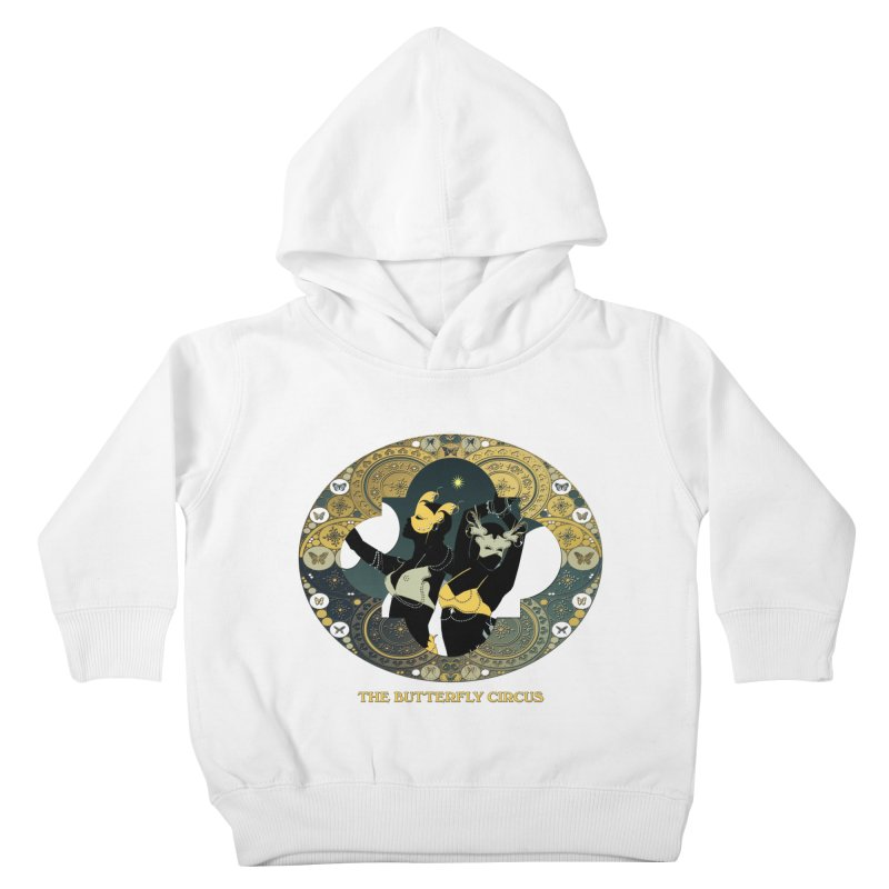 The Butterfly Circus Stars Landscape Kids Toddler Pullover Hoody by theatticshoppe's Artist Shop