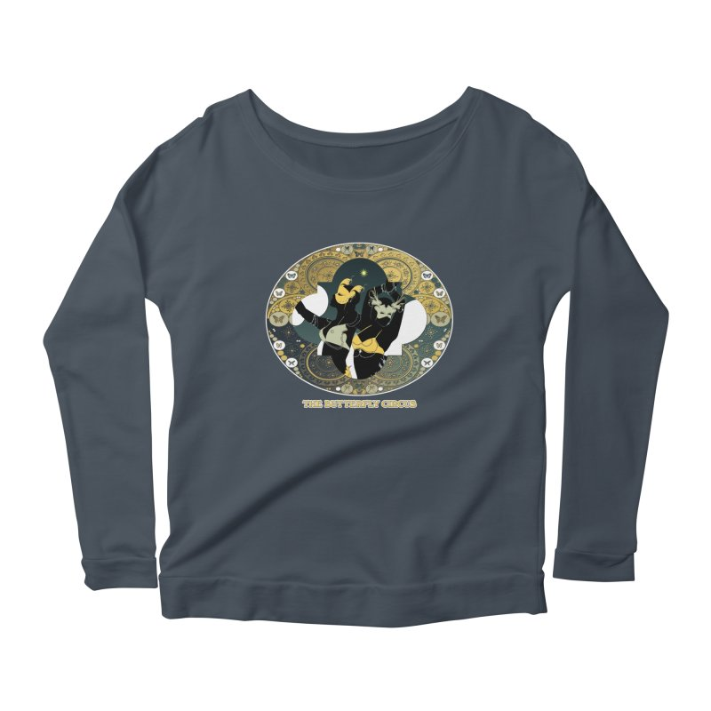 The Butterfly Circus Stars Landscape Women's Longsleeve Scoopneck  by theatticshoppe's Artist Shop