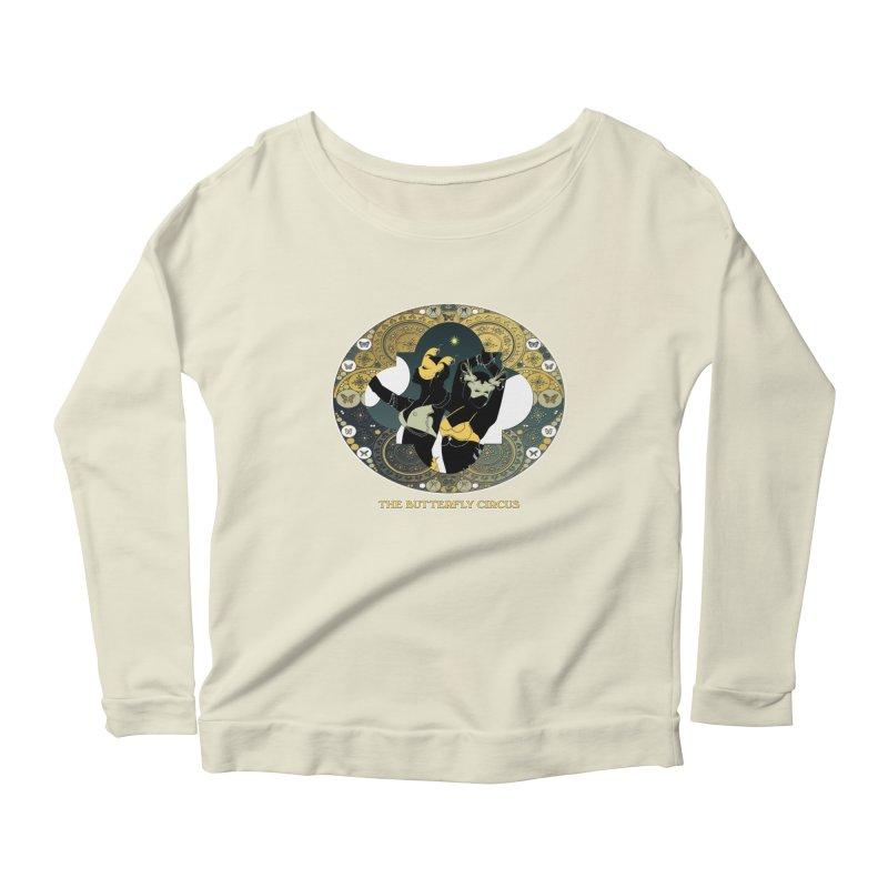 The Butterfly Circus Stars Landscape Women's Scoop Neck Longsleeve T-Shirt by theatticshoppe's Artist Shop